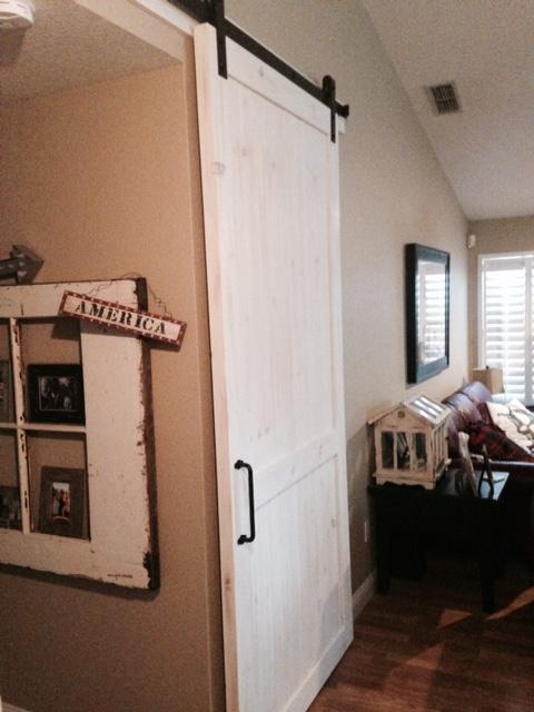 Barn Door on Old 4 Door Trucks