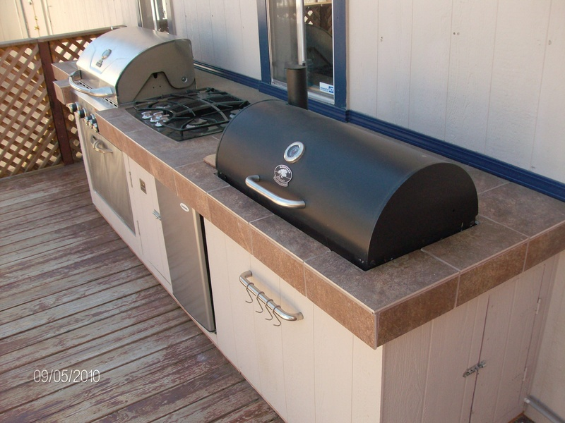 Outdoor Kitchen Woodwork By Woodbeck