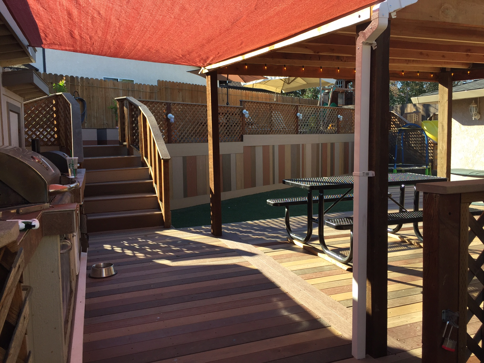 Backyard Composite Deck